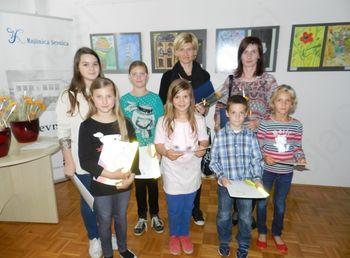 PALETA BREZ MEJA - 1. natečaj za otroško likovno razstavo občine Sevnica 2014
