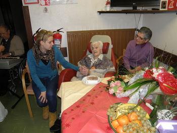 Matilda Močnik je praznovala 102. rojstni dan