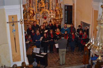 Mešani pevski zbor PD Horjul uspešno sledi svojim ciljem