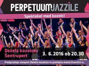 Spektakel med kozolci - Perpetuum Jazzile, PRESTAVLJENO - 12. 6. 2016