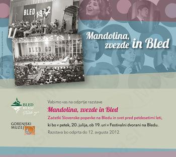 Mandolina, zvezde in Bled... od petka tudi na Bledu!