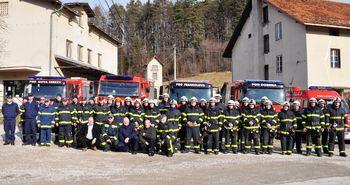 Gasilska zveza Vojnik-Dobrna uspešno izvedla tečaja za vodjo skupine in enote