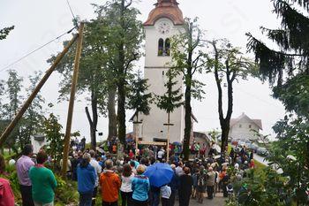 Blagoslov obnovljenega zvonika