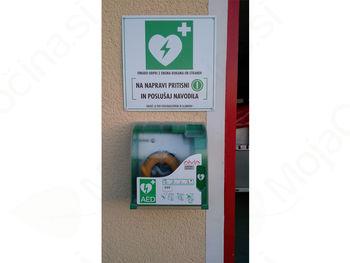 Lovrenški gasilci kupili nov avtomatski eksterni defibrilator (AED)