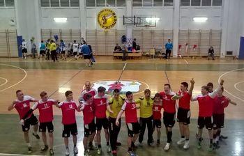 Pridno delo na treningih članom Rokometnega kluba Radovljica prineslo prvo zmago