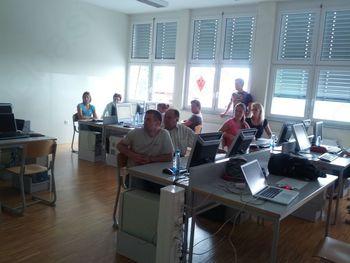 Otvoritvena delavnica Local PRESS v občini Sveti Andraž v Slovenskih goricah