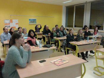 Učitelji, vzgojitelji konjiške občine delili praktične izkušnje  s Španci, Italjani, Makedonci, Grki, ...