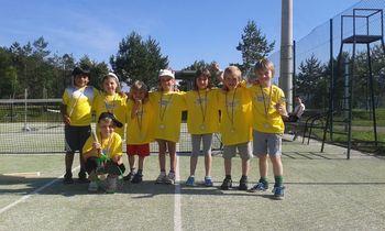 Pod Turo prvi teniški turnir za najmlajše