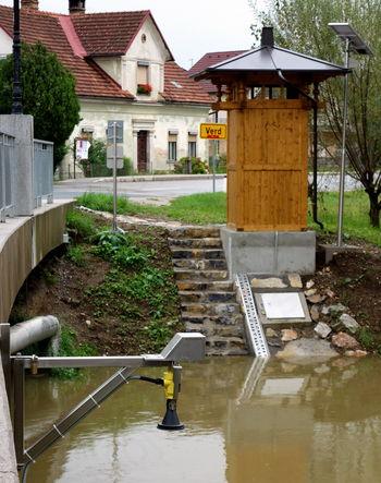 Evropska sredstva za vodomerno postajo