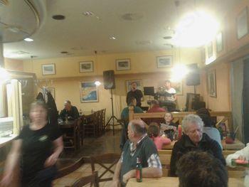 Zabava s Tomažem Ahačičem - Foglom v pizzeriji Detel'ca