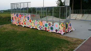 Osnovnošolci polepšali park