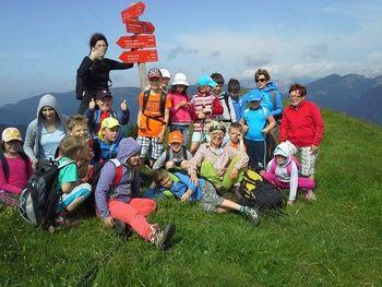 Mladi planinci na Lepenatki