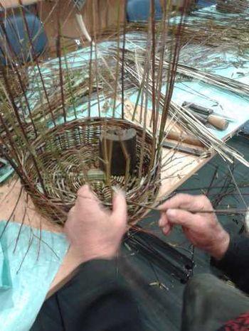 Delavnica Pletenje košar