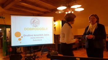 Dvajsetletno delovanja Društva kmečkih žena Suha krajina - Žužemberk