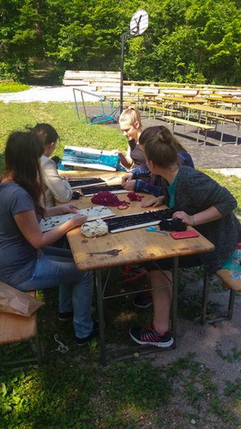 Tabor raziskovanja in kreativnosti 2016 v Rakovem Škocjanu