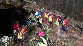 Mladi planinci v Škadavnici