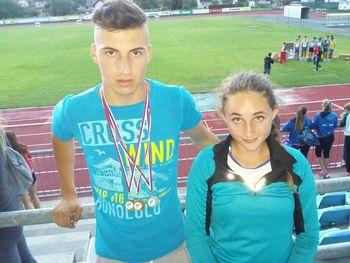 Izjemni Mitja Kordež na prvenstvu Slovenije v atletiki osvojil tri zlate medalje