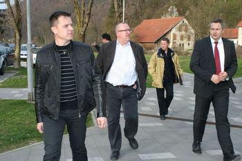 Nazarje obiskal minister Dejan Židan