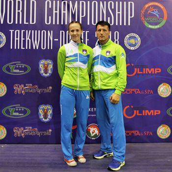 Svetovno prvenstvo v taekwondo-ju: Ičanović drugič zapored svetovni prvak