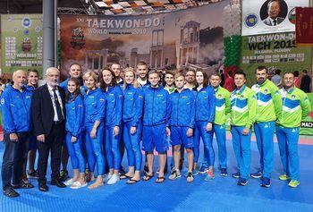 Izjemen uspeh ljubljanskih taekwondoistov na svetovnem prvenstvu