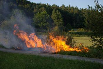 Požarna ogroženost se nadaljuje v Občini Miren-Kostanjevica