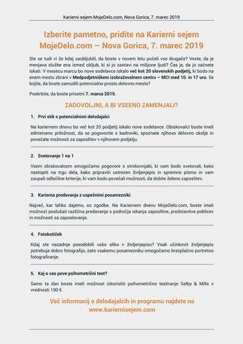 Karierni sejem Mojedelo.com