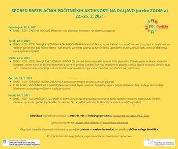 Počitniške dejavnosti v Večgeneracijskem centru Goriške
