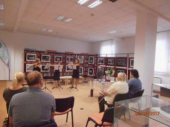 Otvoritev fotografske razstave Dddr. Evgena Bavčar-ja