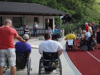 Atleti paraplegiki so … drugi