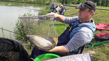 Korošci pa znajo ribe lovit'!