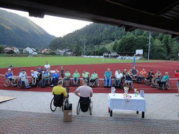 Atleti Društva paraplegikov Koroške na koncu ekipno drugi