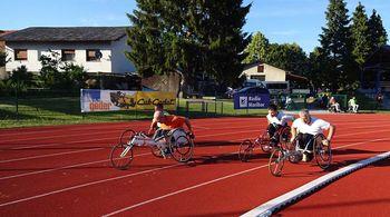 Začetek atletske lige paraplegikov