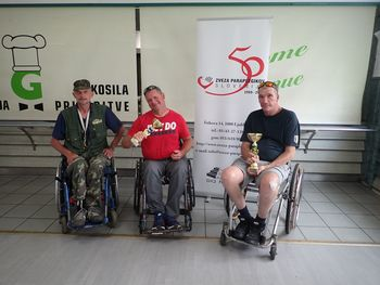Ribiška ekipa koroških paraplegikov podprvak