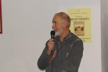 Predstavitev knjige V Brucku taborišču