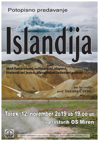 Potopisno predavanje ISLANDIJA