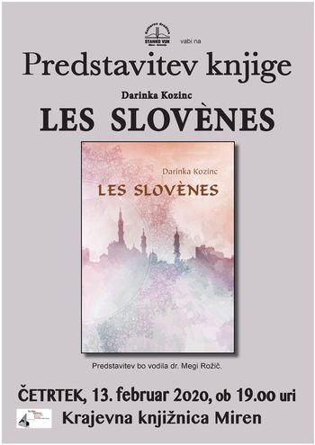 predstavitev knjige Darinke Kozinc: Les Slovènes