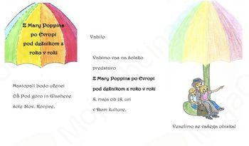 Vabilo na predstavo učencev OŠ Pod goro in Glasbene šole Slovenske konjice