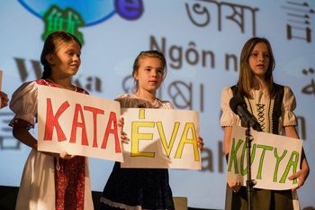 Festival jezikov 2018 -  pisan,  pester in uspešen