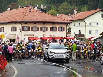 41. kolesarski vzpon Kobarid - Drežniške Ravne za pokal Občine Kobarid.