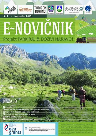 PARKIRAJ&DOŽIVI NARAVO! o zeleni turistični mobilnosti v Triglavskem narodnem parku