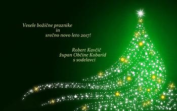 Vesele božične praznike in srečno novo leto 2017!