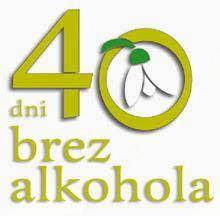 40 dni brez alkohola - preventivna akcija