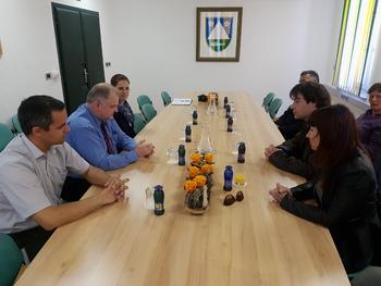 Poslanska skupina Združena levica obiskala Kobarid