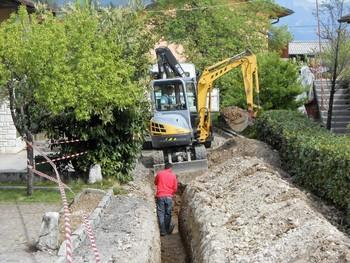 Urejanje vodovoda in kanalizacije v Breginjskem kotu