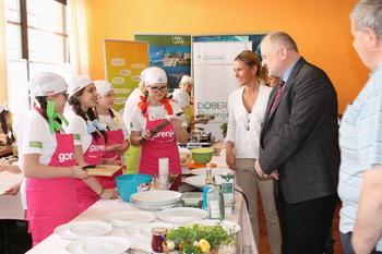 Župan je pozdravil mlade kuharske mojstre