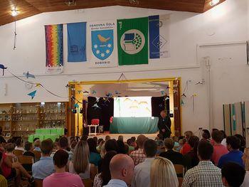 Župan sprejel 55 prvošolčkov