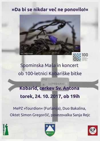 Spominski koncert: