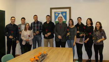 Župan se je srečal z diplomanti občine Kobarid
