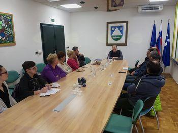 Župan se je srečal z večjimi sobodajalci iz občine Kobarid