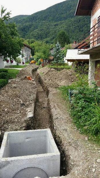 Urejanje komunalne infrastrukture v Sužidu poteka po planu